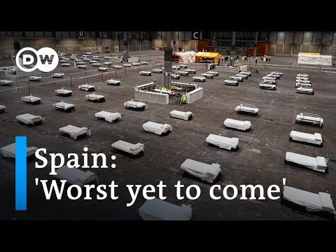 Coronavirus update: Spain rushes to build hospitals as cases surge | DW News