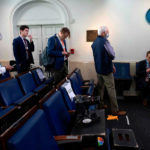 White House will test reporters for coronavirus before briefings