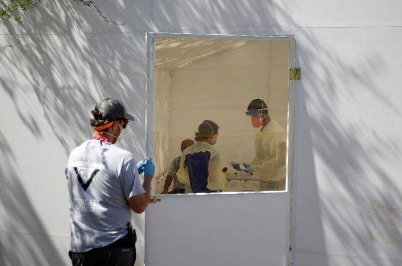 First coronavirus cases found in sprawling migrant camp at U.S. border