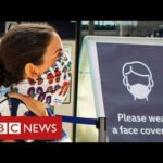 Face coverings become compulsory in shops in England – BBC News