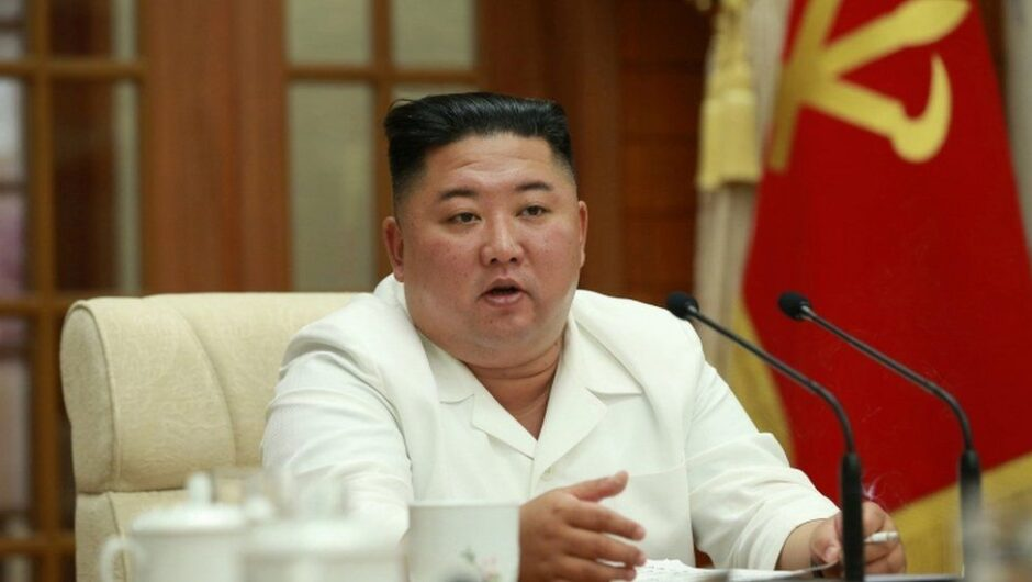 Kim Jong-un warns over North Korea typhoon and coronavirus