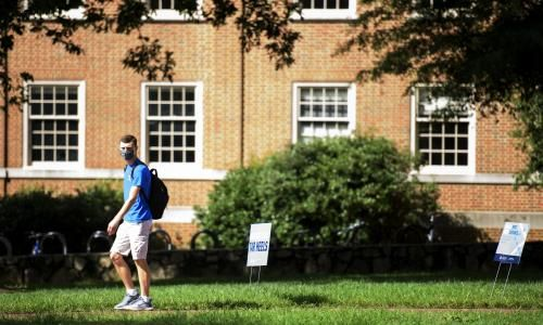 Two universities welcomed students on campus. Only one tested for Covid-19