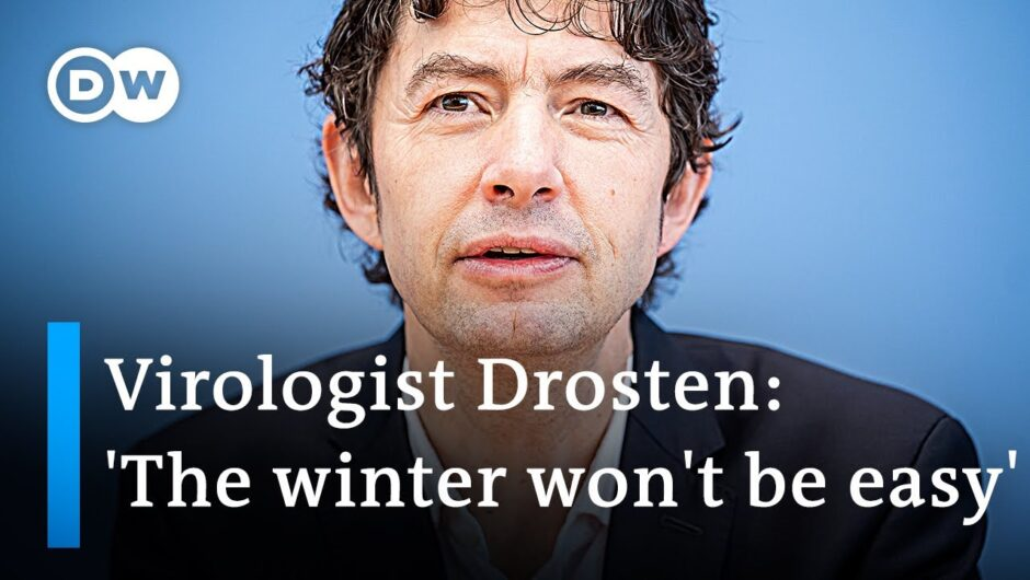 German virologist Christian Drosten on what to expect in the coronavirus pandemic | DW News