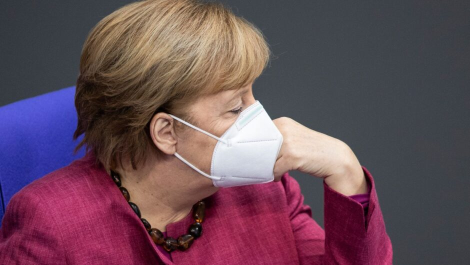 Merkel heckled in German parliament after warning against Covid-19 'lies and disinformation'