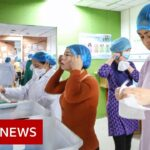 Coronavirus: Some workplaces in Wuhan to re-open – BBC News