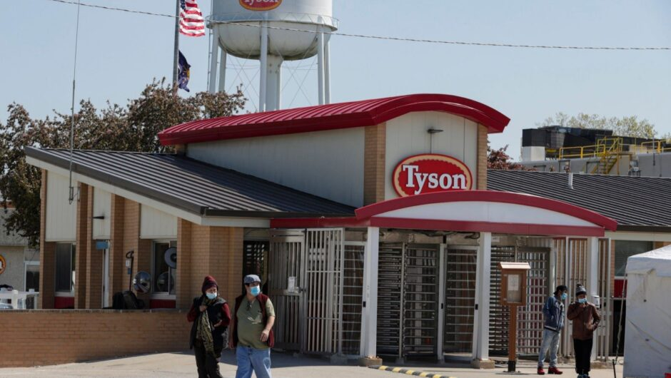 Managers at a Tyson facility bet on how many of their workers would get sick with COVID-19 after they were ordered to work during the pandemic, a wrongful death lawsuit alleges