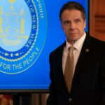 New York Gov. Andrew Cuomo snapped at reporters at a tense coronavirus press briefing where he learned that NYC schools were closing amid a spike in new infections