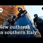 Tensions flare in Italy as coronavirus spreads among migrant workers   DW News