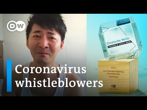 2020 DW Freedom of Speech Award honors coronavirus whistleblowers | DW News