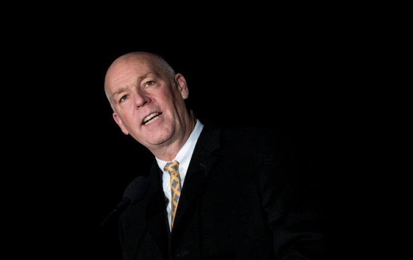 Montana Gov. Greg Gianforte tests positive for COVID-19