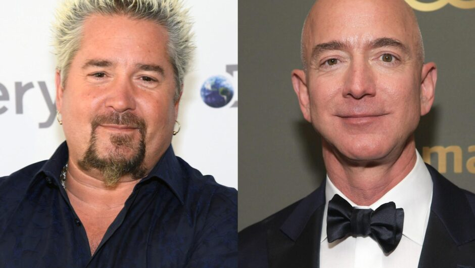 Celebrity chef Guy Fieri says Jeff Bezos didn't donate to his COVID-19 restaurant worker relief fund